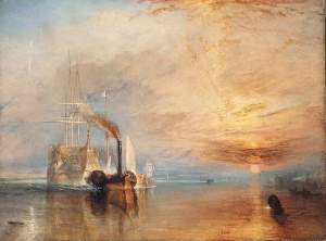 London National Gallery Top 20 13 JMW Turner - The fighting Temeraire
